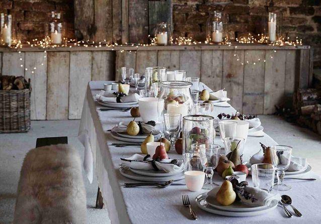 30 idées pour une décoration de table d'hiver gagnante