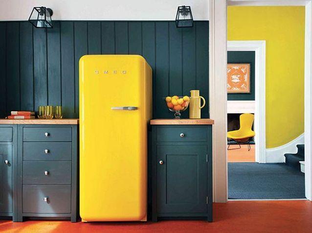 Un réfrigérateur comme élément de décoration
