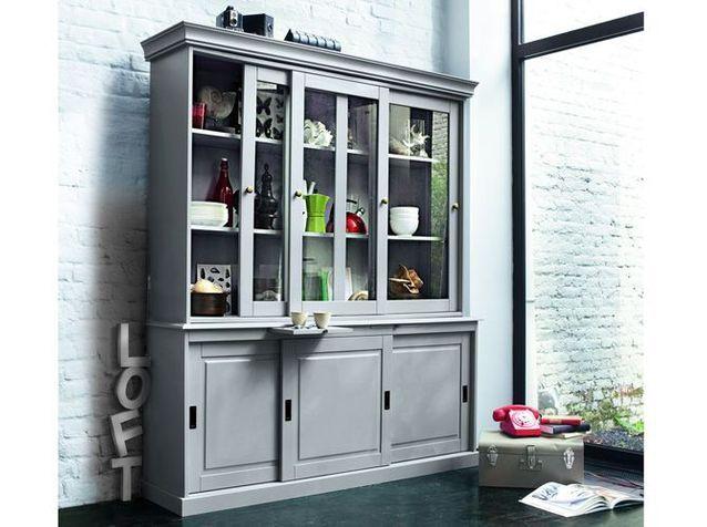 Le Vaisselier A L Ancienne S Invite En Cuisine Elle Decoration