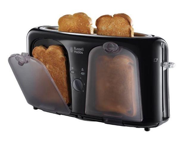 1. Le grille-pain qui garde vos tartines au chaud