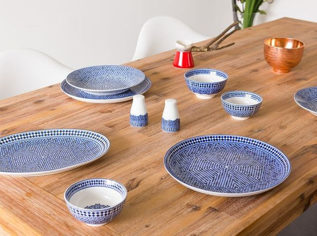 Assiette creuse marocaine