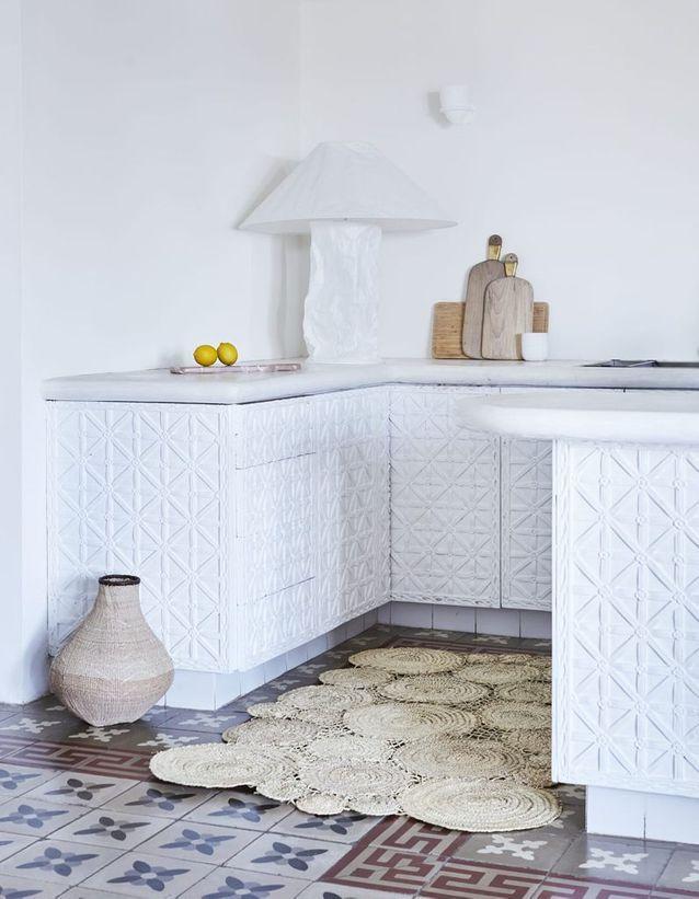 Osez le tapis dans la cuisine