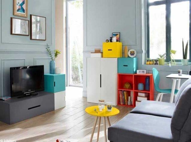 Découvrez ce petit appartement bien organisé