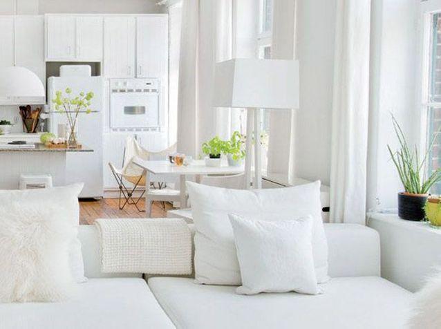 5 intérieurs en blanc pour agrandir votre surface