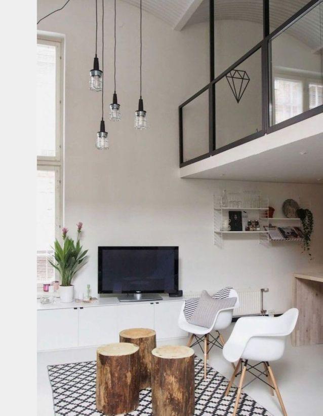 Un petit duplex classique et design