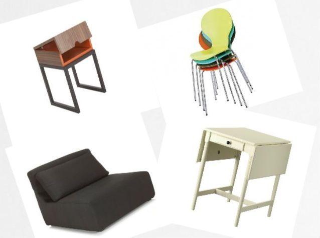 Des mini meubles pour gagner de la place!