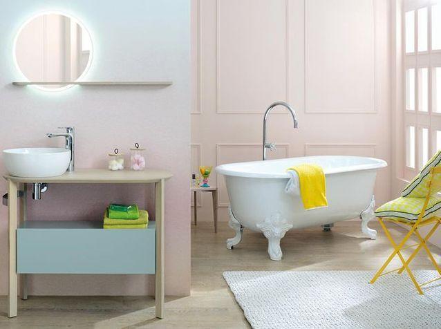 Des salles de bains spéciales femmes - Elle Décoration