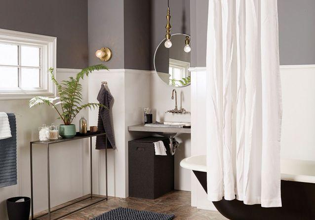 30 id es pour d corer votre salle de bains sans la r nover elle d coration - Renover salle de bain sans casser carrelage ...