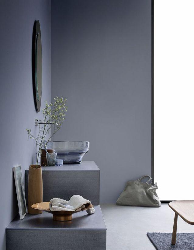 Salle de bains bleue Rexa Design
