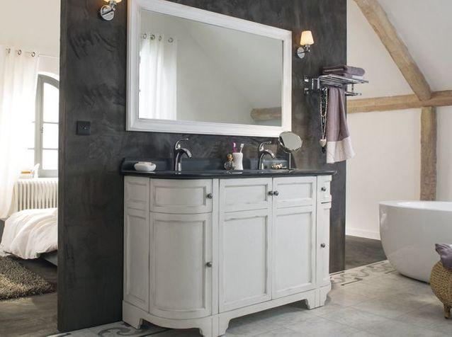Un meuble ancien pour ma salle de bains - Elle Décoration