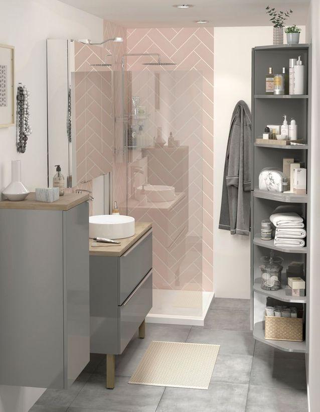 ces salles de bains castorama ont tout pour plaire elle. Black Bedroom Furniture Sets. Home Design Ideas