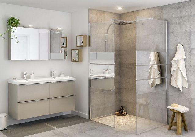 ces salles de bains castorama ont tout pour plaire elle d coration. Black Bedroom Furniture Sets. Home Design Ideas