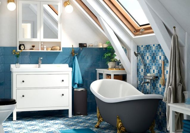 Une salle de bains comme chez Ikea - Elle Décoration