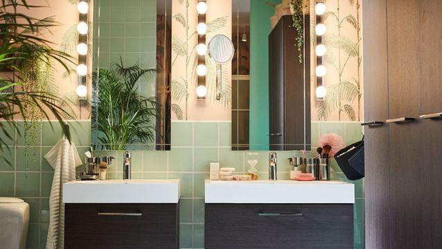 Une Salle De Bains Comme Chez Ikea Elle Decoration