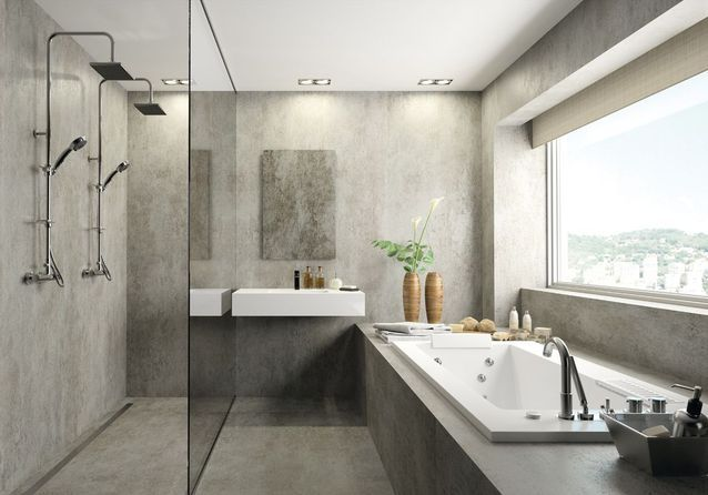 Miser sur le monochrome pour une salle de bains zen