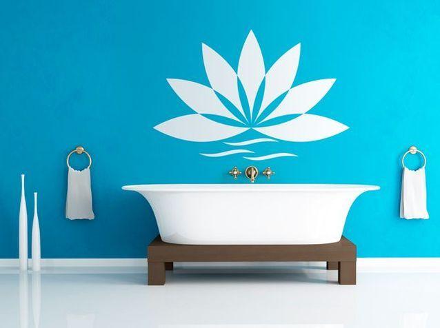 12 stickers pour relooker votre salle de bains - Elle Décoration