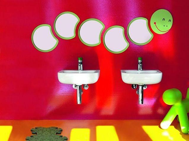 Une salle de bains pour tout faire comme les grands !