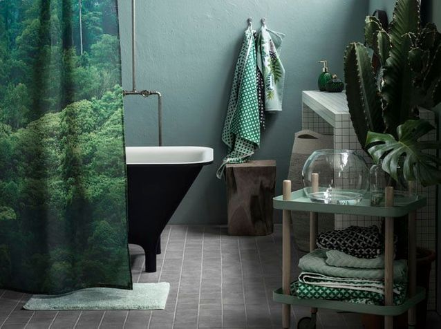 salle de bains zen - Elle Décoration