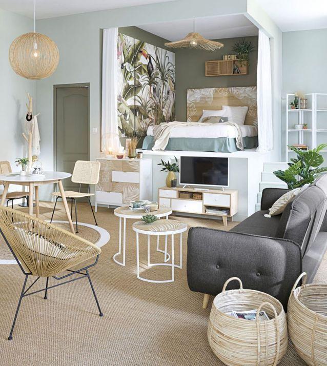 Choisir un canapé scandinave pour l'associer à du mobilier en bois