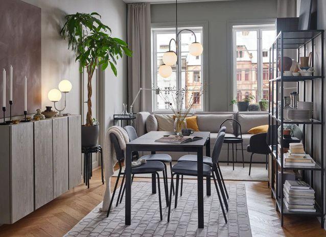 Séparer les espaces à l'aide de tapis