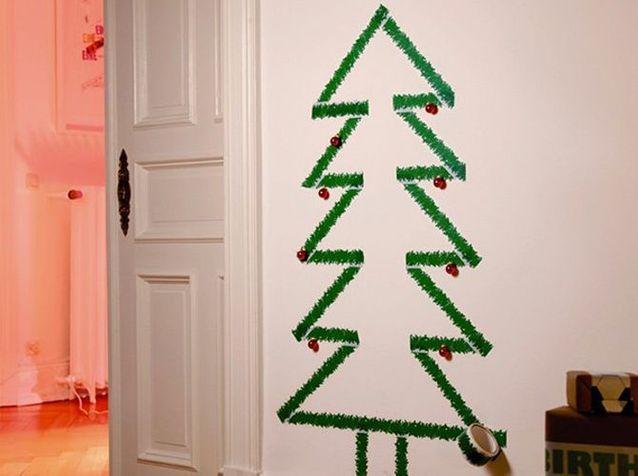 Un faux sapin de Noël pour une déco originale