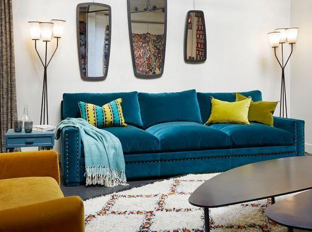 Adoptez un canapé en velours