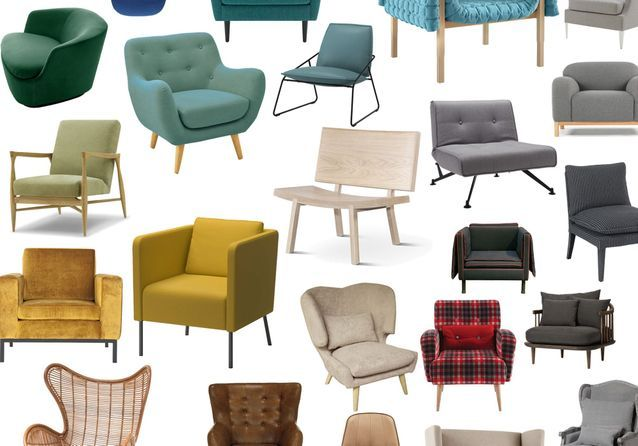 30 fauteuils qui n\'attendent que vous ! - Elle Décoration
