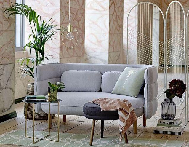 Canapé cosy : on craque pour un modèle cocooning - Elle Décoration