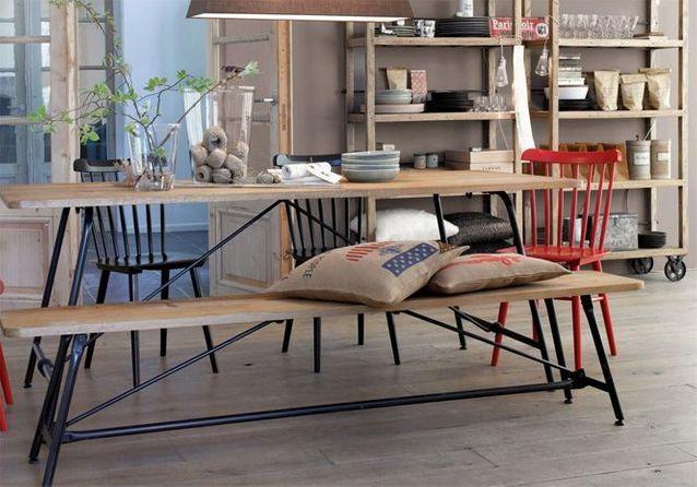 Chaises et tables pliantes