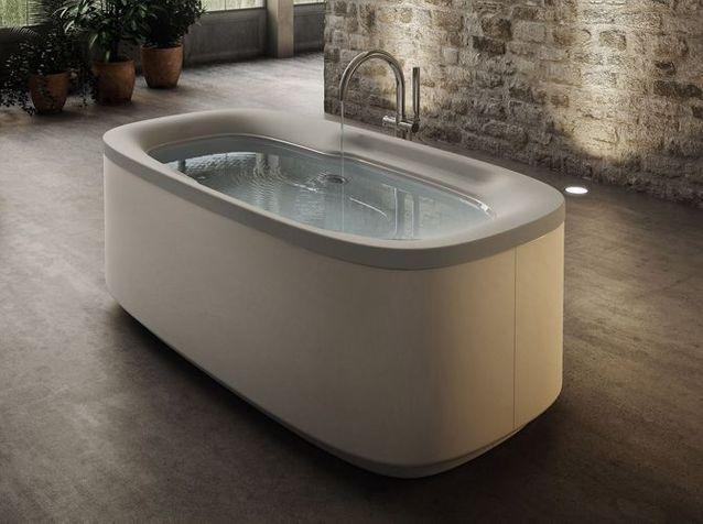 Une baignoire balnéo pour détendre le corps et l'esprit