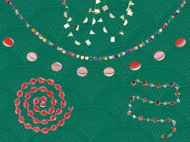 20 guirlandes de Noël pour un sapin déco