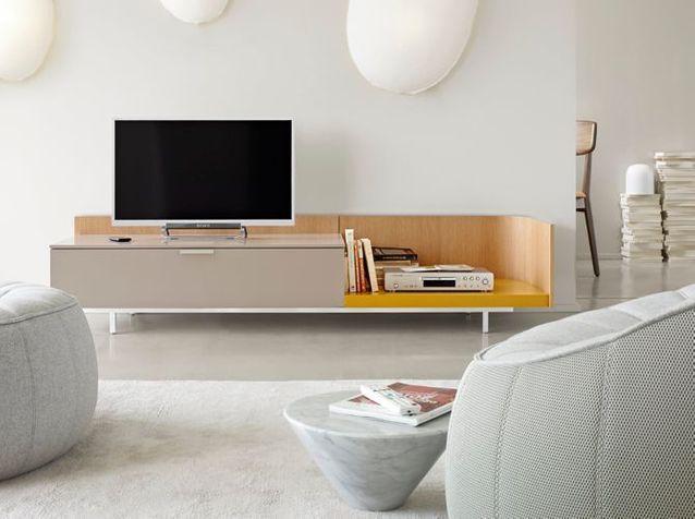 355a3b4848c674 Le meuble TV fait sa star ! - Elle Décoration