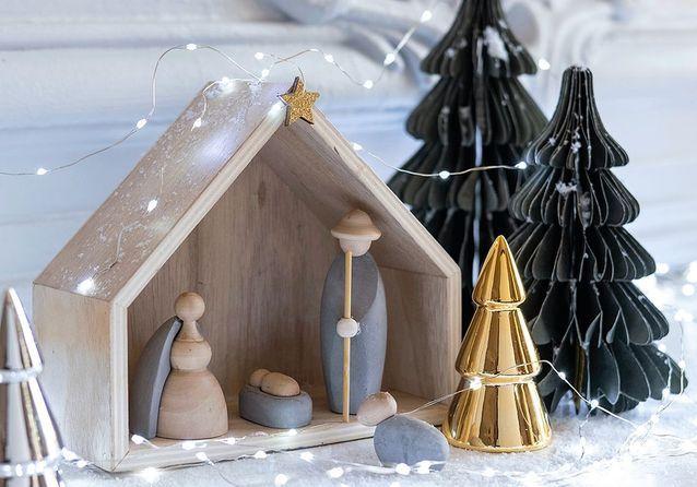 10 crèches de Noël pour les petits et les grands , Elle