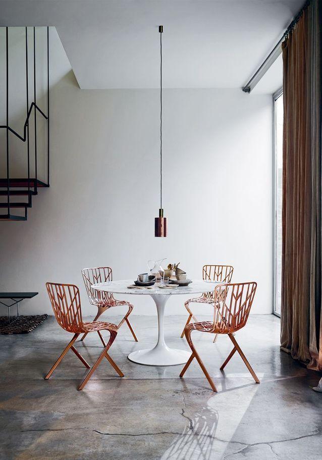 La table « Tulipe » de Eero Saarinen pour Knoll