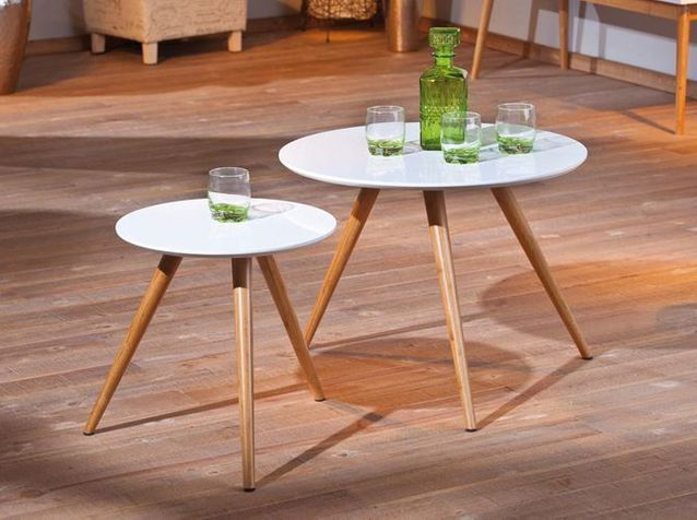 Tendance La Table Basse Se Multiplie Elle Decoration