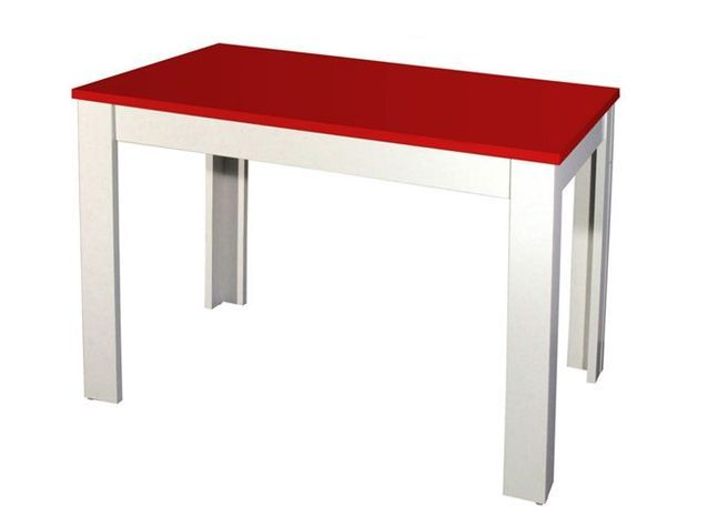 Table rouge vente unique