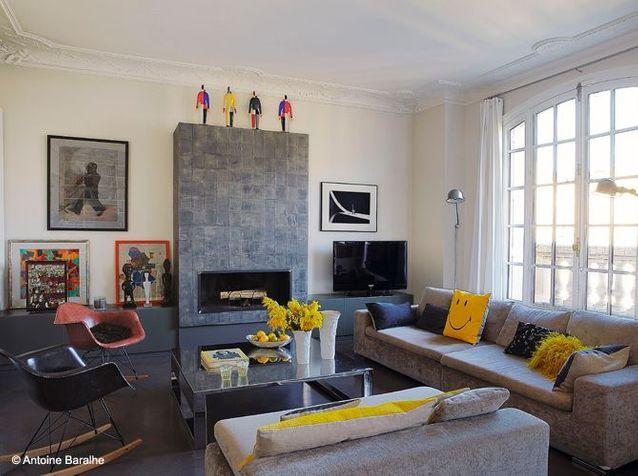 Nos 50 Plus Belles Cheminees Elle Decoration