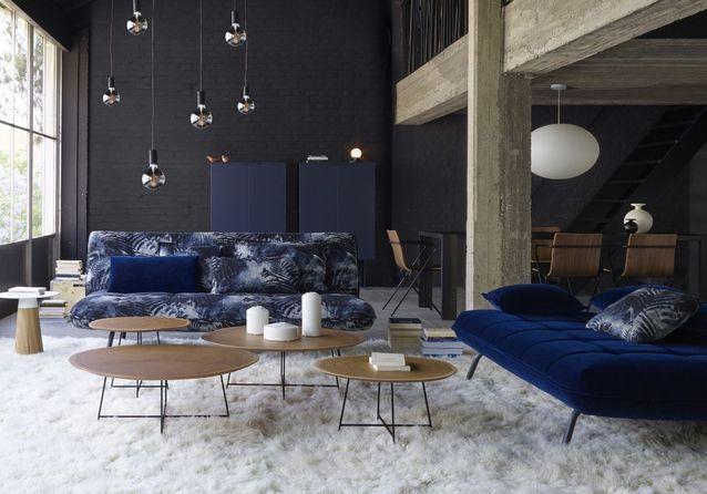 les plus beaux salons cocooning copier pour un hiver. Black Bedroom Furniture Sets. Home Design Ideas