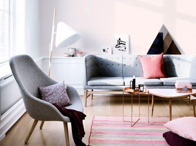 Les Plus Beaux Salons Repérés Sur Pinterest Elle Décoration
