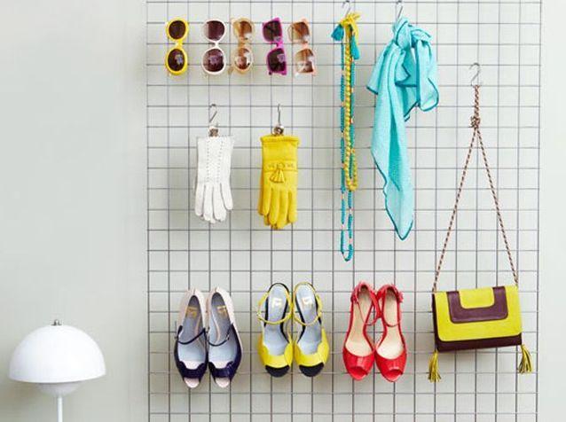 Amenagement Petit Dressing créez un dressing sympa pour zéro centime ! - elle décoration