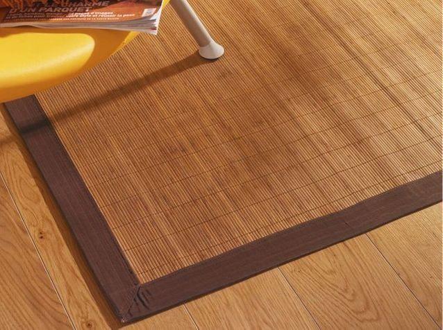 Shopping tapis en bambou - Elle Décoration