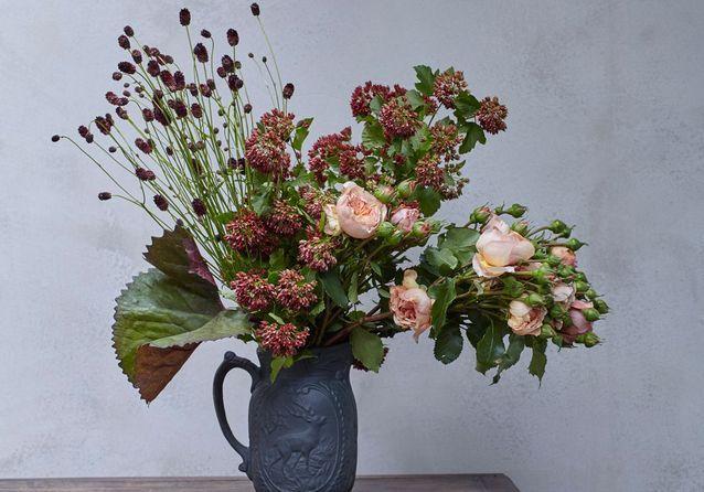10 Fleurs Stars Pour 3 Bouquets D Automne Elle Décoration