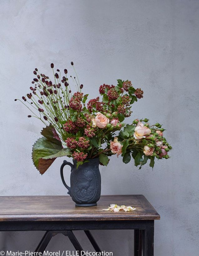 Bouquet d'automne à la Cézanne