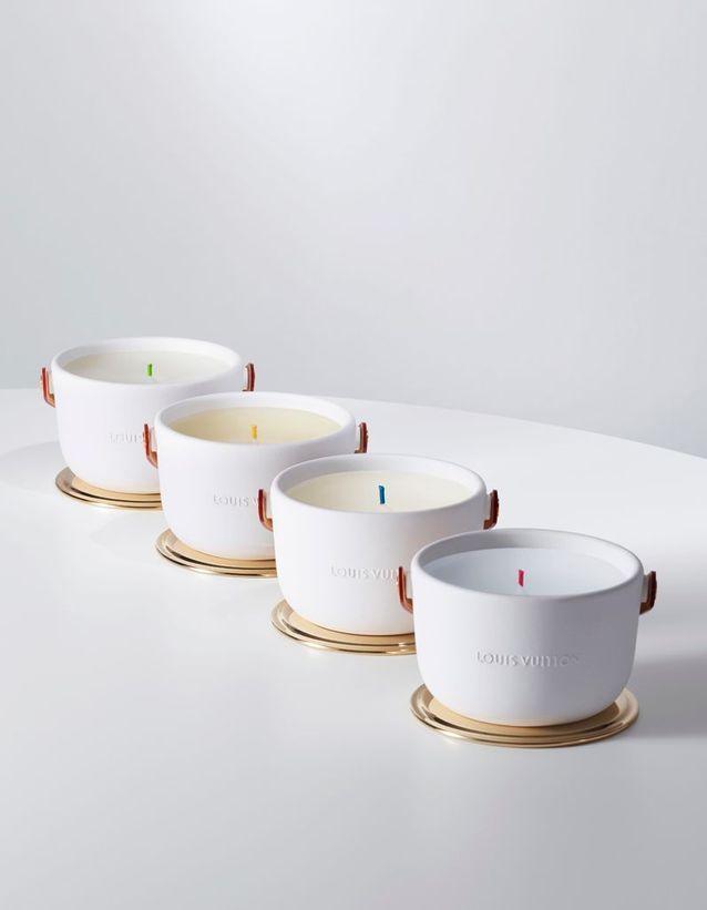 Une bougie pour l'hiver signée Louis Vuitton