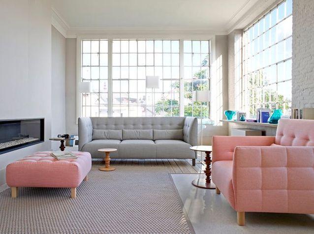 Comment int grer des meubles de couleur dans son int rieur elle d coration - Meuble colore ...