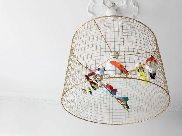 DIY : craquez pour la suspension volière