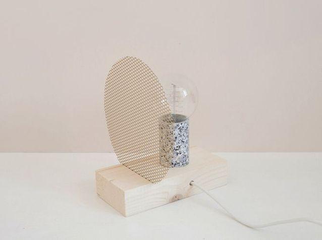 Diy Réalisez Une Lampe à Poser Originale Elle Décoration