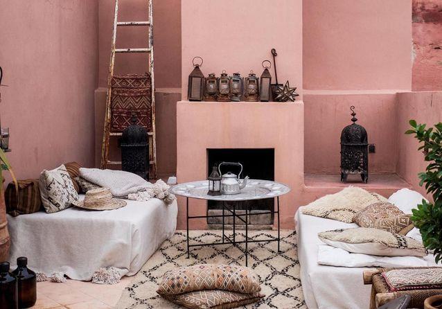 Ces 30 idées déco qu\'on pique aux riads marocains - Elle ...