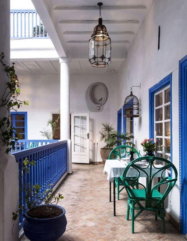 Ces 30 Idees Deco Qu On Pique Aux Riads Marocains Elle Decoration