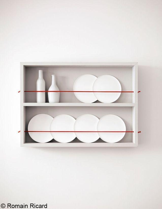 Plein cadre sur le vaisselier